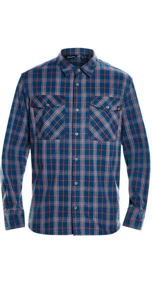 Berghaus Exp***** Fall overhemd en blouse lange mouwen Heren rood/blauw